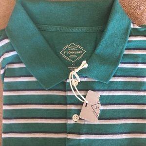 St. John's Bay Striped Polo Shirt